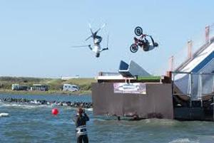 brouwersdam waterjump